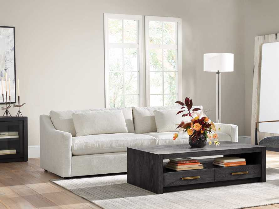 "Ashby Upholstered 106"" Sofa in Cushing Frost, slide 1 of 11"