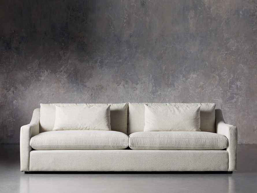 "Ashby Upholstered 106"" Sofa in Cushing Frost, slide 2 of 11"