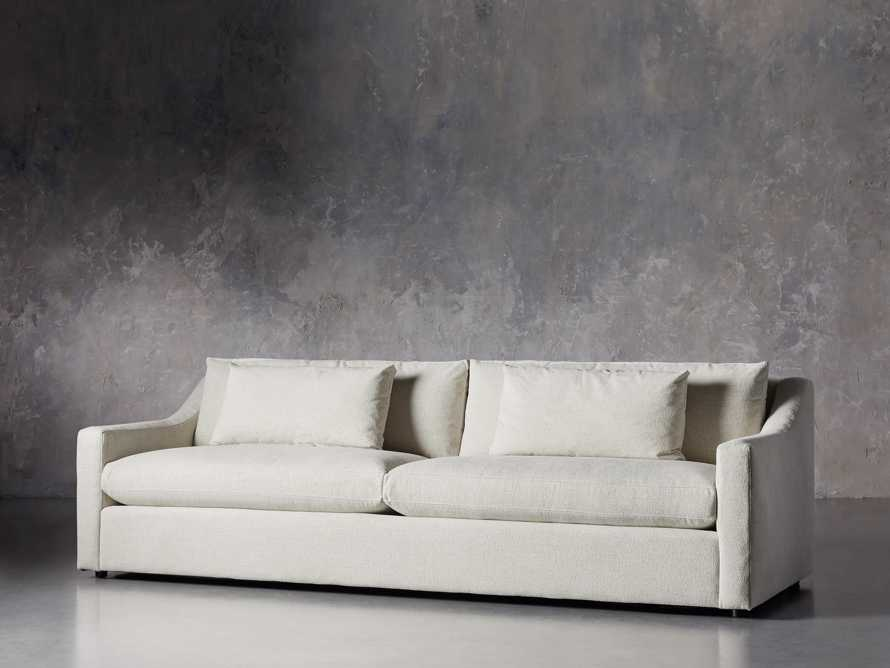 "Ashby Upholstered 106"" Sofa in Cushing Frost, slide 3 of 11"