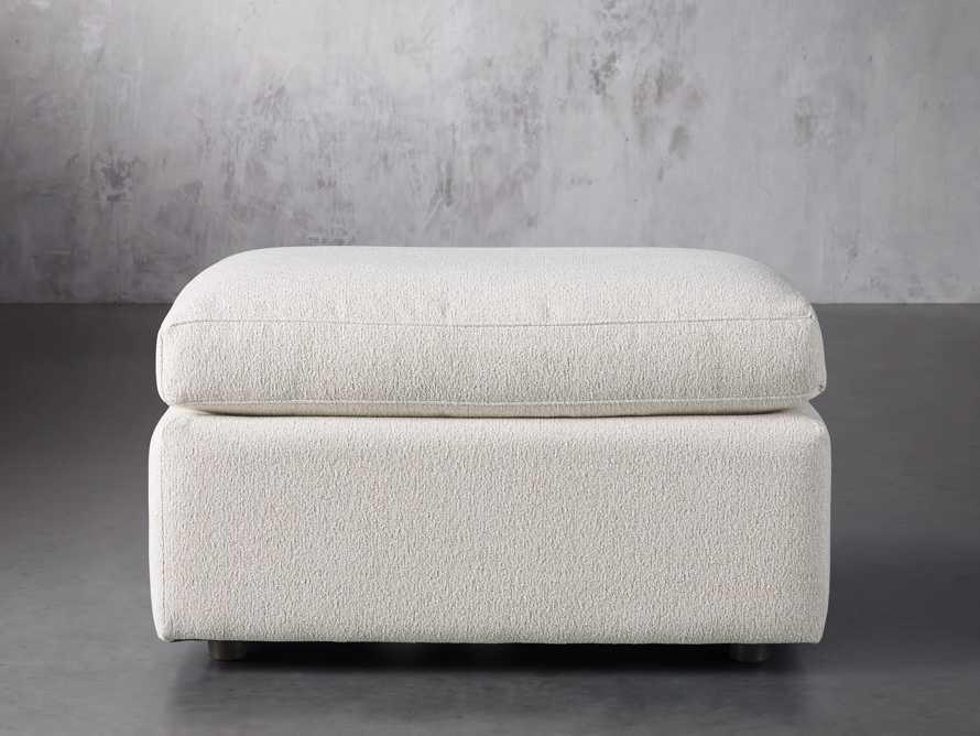 """Ashby Upholstered 32"""" Ottoman, slide 1 of 3"""