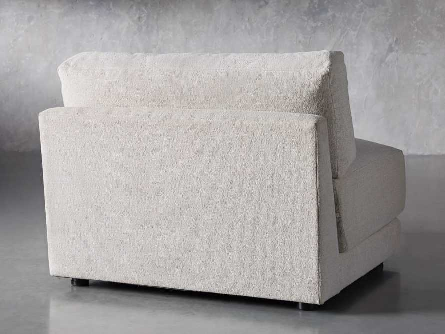 "Sarno Upholstered 40"" Armless Chair"