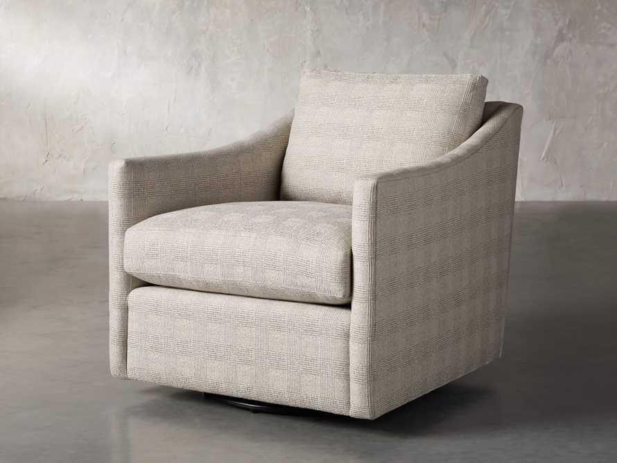 """Branson Upholstered 31"""" Swivel Chair, slide 2 of 10"""