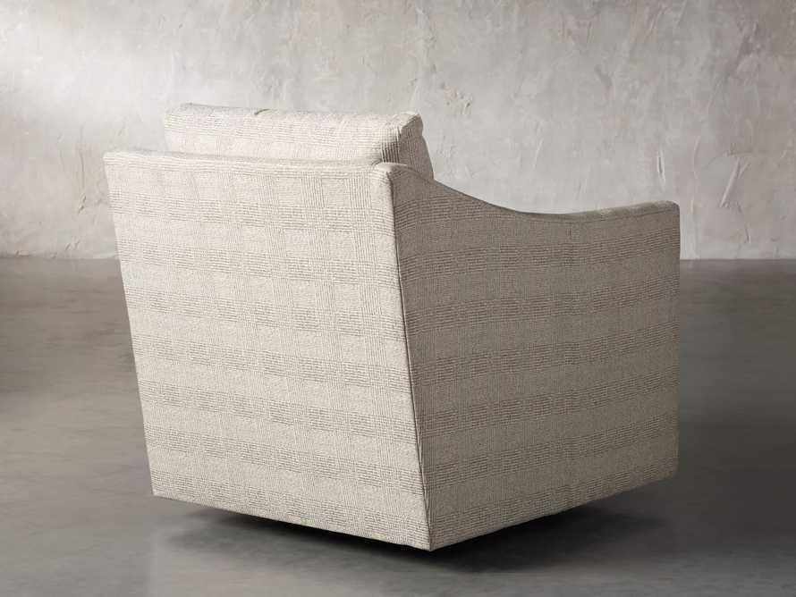 """Branson Upholstered 31"""" Swivel Chair, slide 4 of 10"""