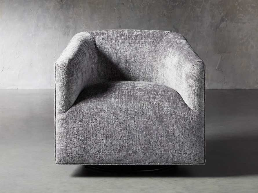 "Ellison Upholstered 31"" Swivel Glider, slide 2 of 11"