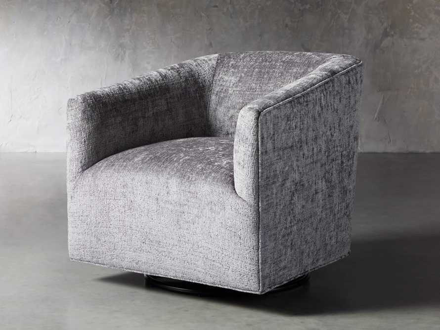 "Ellison Upholstered 31"" Swivel Glider, slide 3 of 11"