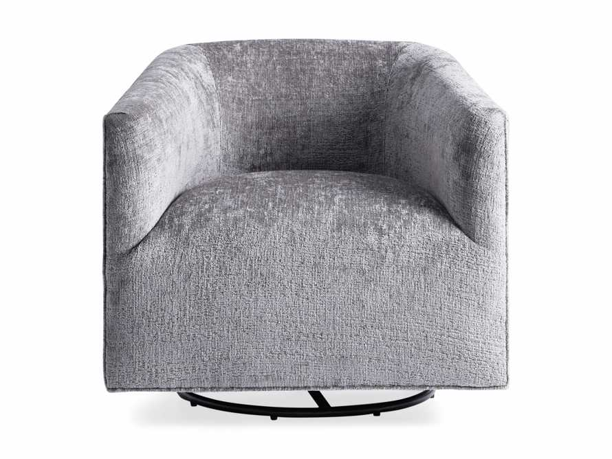 "Ellison Upholstered 31"" Swivel Glider, slide 10 of 11"