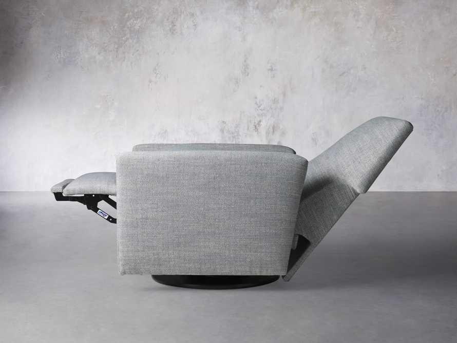 """Harvey Upholstered 31"""" Swivel Recliner, slide 4 of 8"""