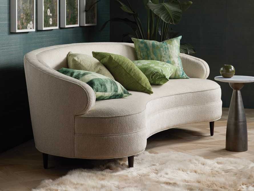 "Flynn Upholstered 89"" Sofa in Shaggy Natural, slide 7 of 9"