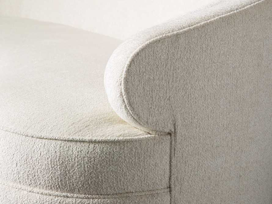 "Flynn Upholstered 89"" Sofa in Shaggy Natural, slide 6 of 9"