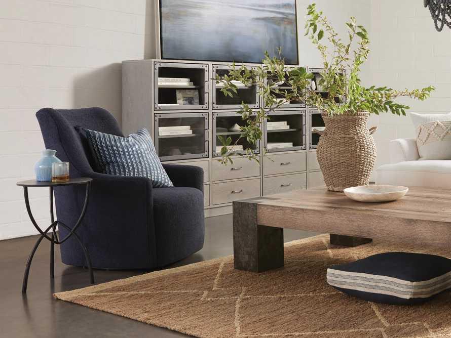 "Cole Upholstered 31"" Swivel Chair, slide 7 of 10"