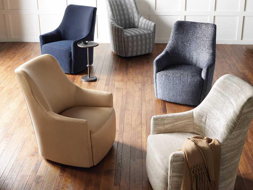 "Cole Upholstered 31"" Swivel Chair, slide 8 of 10"
