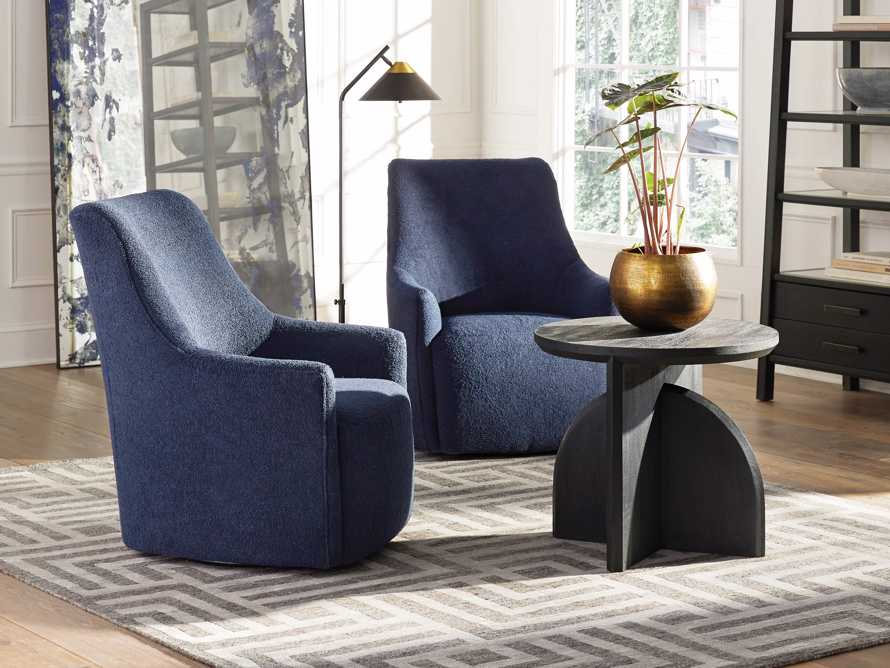 "Cole Upholstered 31"" Swivel Chair, slide 7 of 12"
