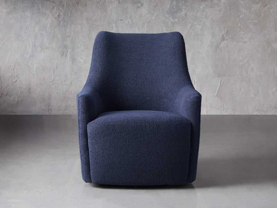 "Cole Upholstered 31"" Swivel Chair, slide 2 of 12"