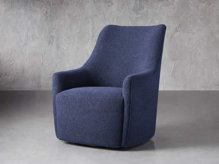 "Cole Upholstered 31"" Swivel Chair, slide 3 of 12"