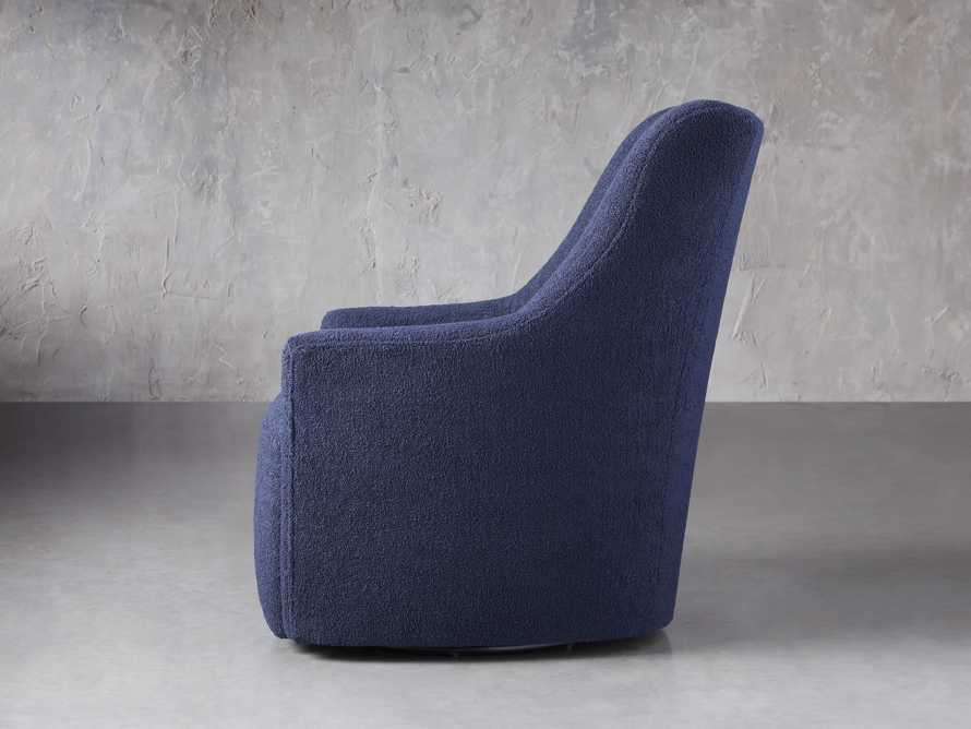 "Cole Upholstered 31"" Swivel Chair, slide 3 of 10"