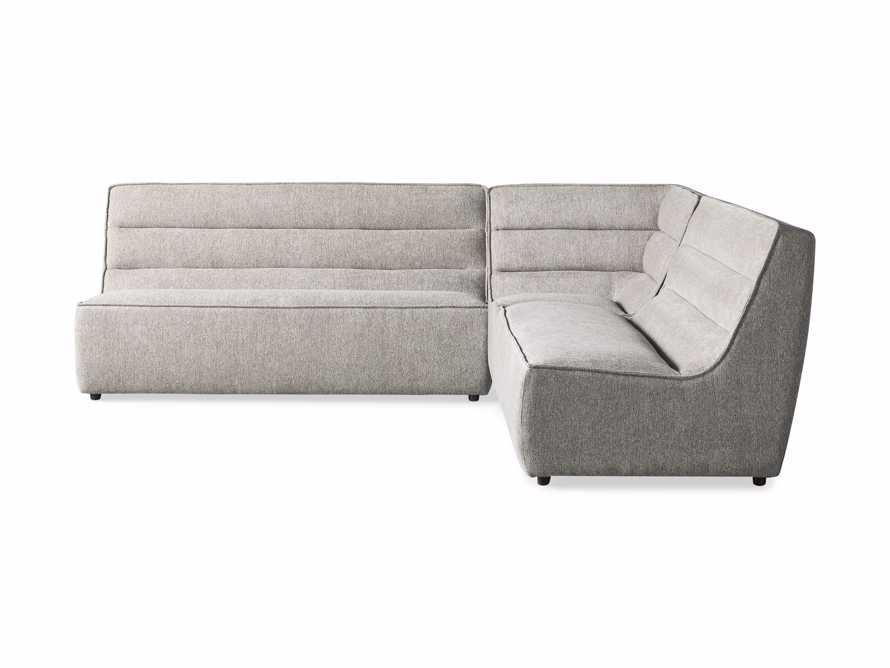 """Archer Upholstered 113"""" Three Piece Corner Sectional, slide 6 of 7"""
