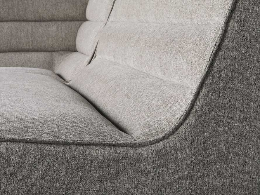 """Archer Upholstered 113"""" Three Piece Corner Sectional, slide 5 of 7"""