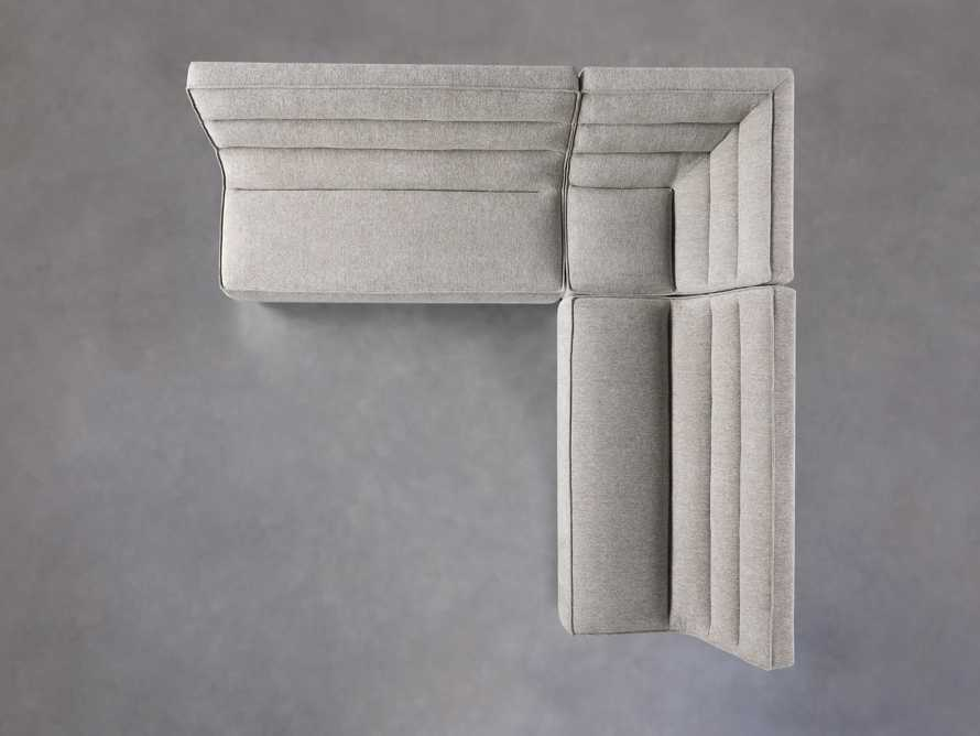 """Archer Upholstered 113"""" Three Piece Corner Sectional, slide 4 of 7"""