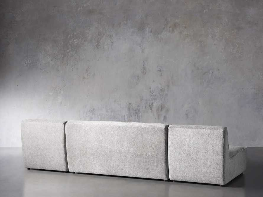 """Archer Upholstered 144"""" Three Piece Sectional, slide 3 of 7"""