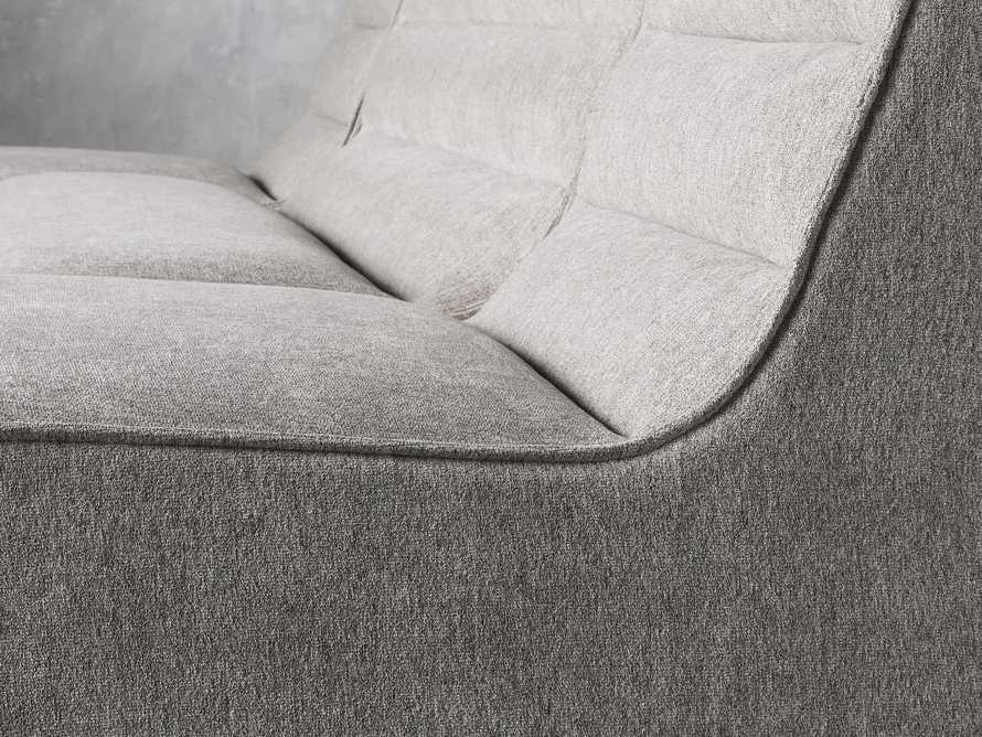 """Archer Upholstered 144"""" Three Piece Sectional, slide 5 of 7"""