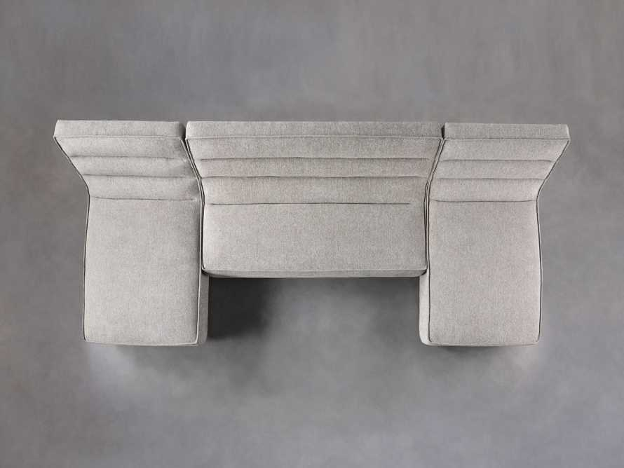 """Archer Upholstered 144"""" Three Piece Sectional, slide 4 of 7"""
