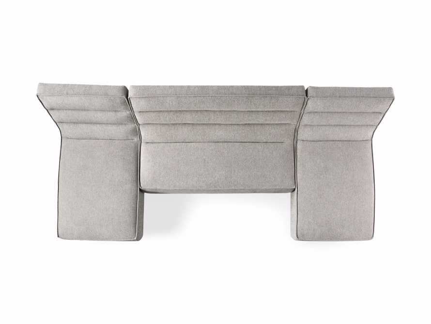 """Archer Upholstered 144"""" Three Piece Sectional, slide 7 of 7"""