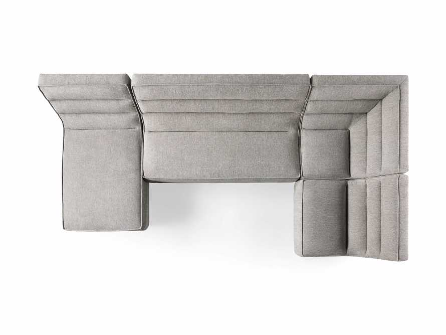 "Archer Upholstered 149"" Four Piece Sectional, slide 8 of 8"