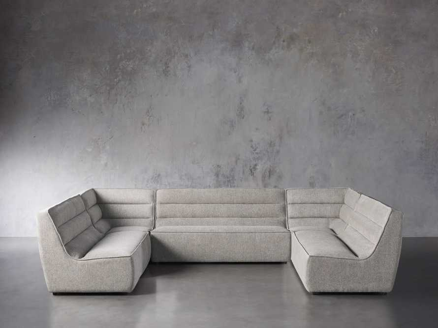"""Archer Upholstered 154"""" Five Piece Sectional, slide 1 of 7"""