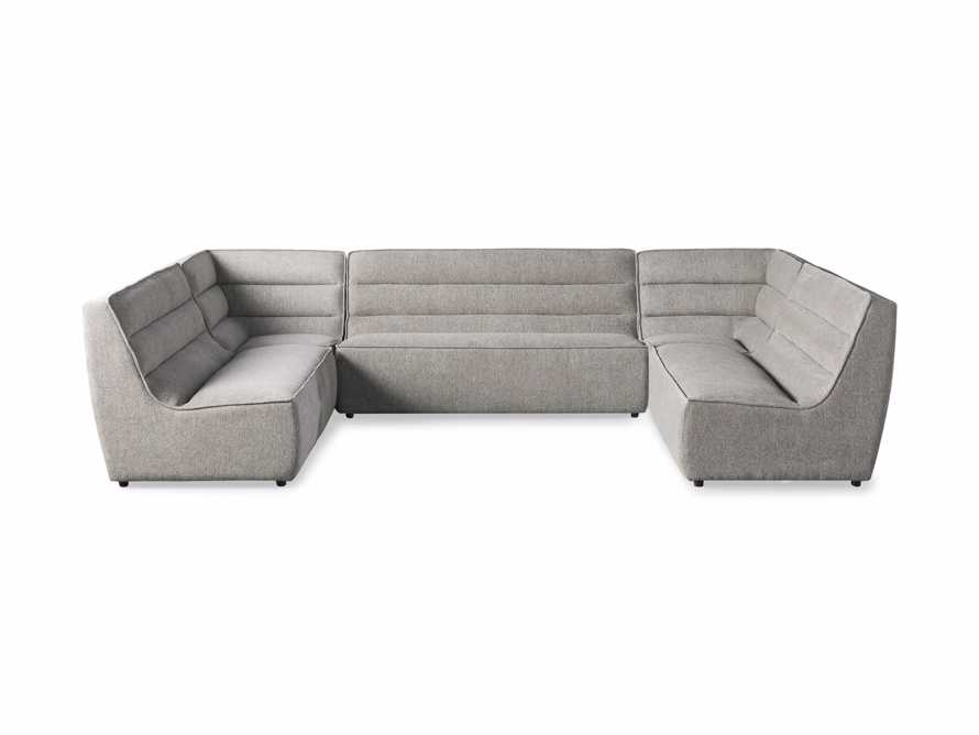 """Archer Upholstered 154"""" Five Piece Sectional, slide 6 of 7"""