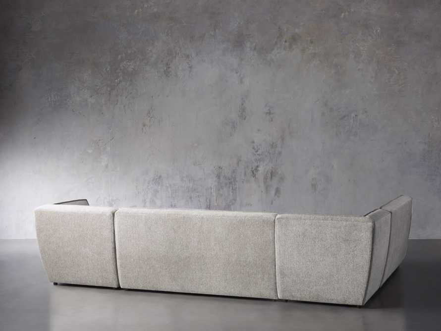 """Archer Upholstered 154"""" Five Piece Sectional, slide 3 of 7"""