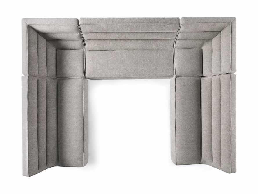 """Archer Upholstered 154"""" Five Piece Sectional, slide 7 of 7"""