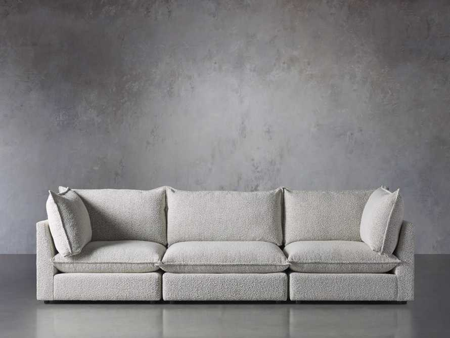 Owen Upholstered Three Piece Sectional, slide 1 of 6