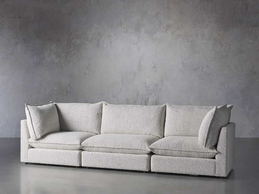 Owen Upholstered Three Piece Sectional, slide 2 of 6