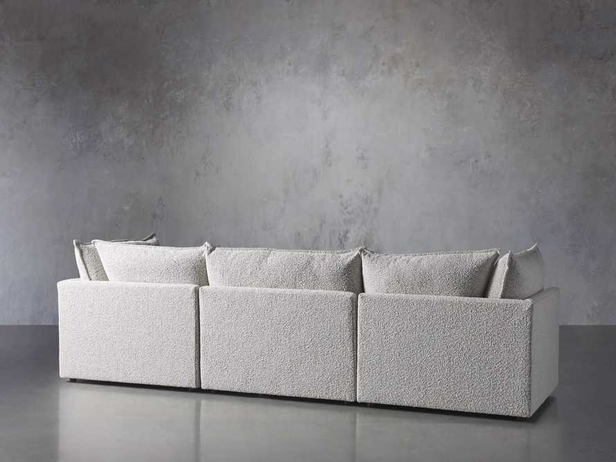 Owen Upholstered Three Piece Sectional, slide 3 of 6
