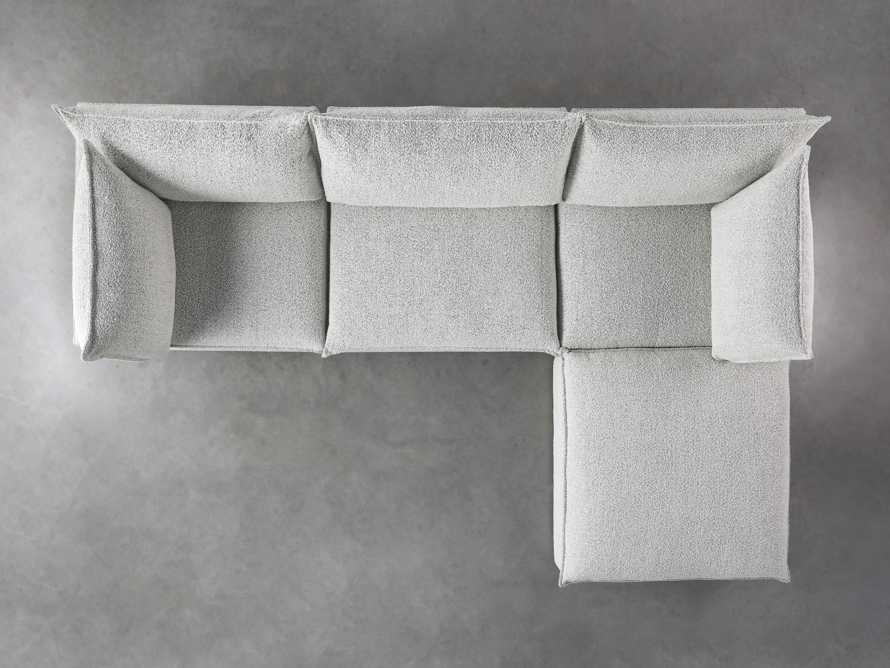 Owen Upholstered Four Piece Sectional, slide 4 of 6