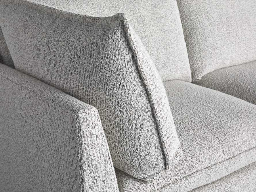 Owen Upholstered Four Piece Sectional, slide 5 of 6