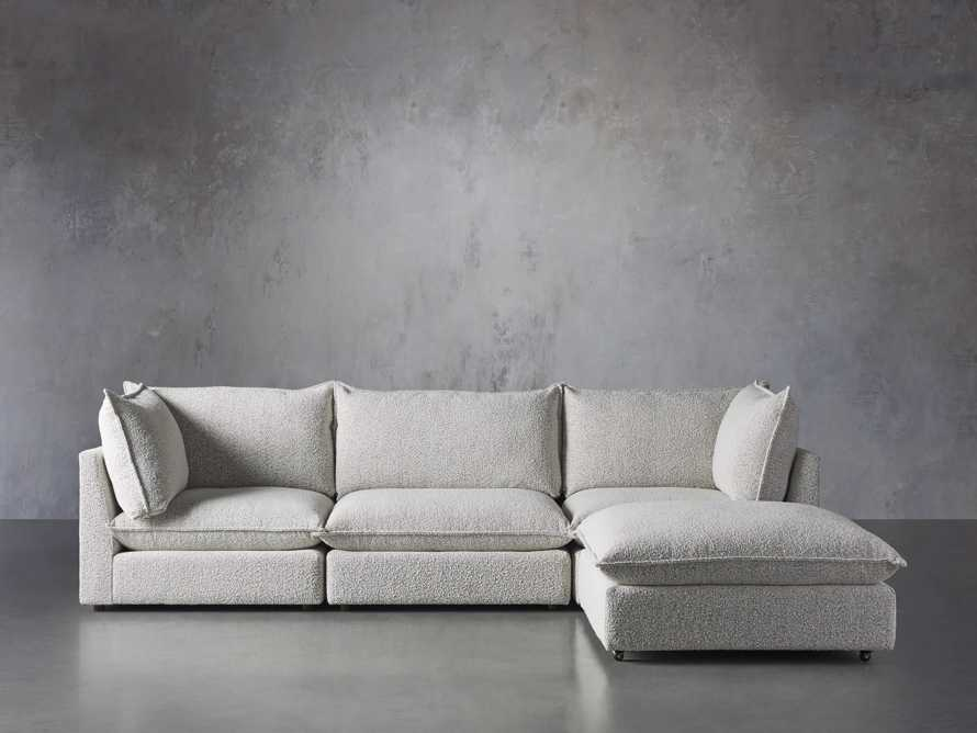 Owen Upholstered Four Piece Sectional, slide 1 of 6