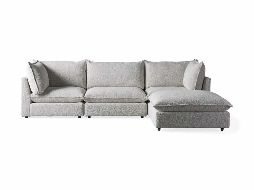 Owen Upholstered Four Piece Sectional, slide 6 of 6