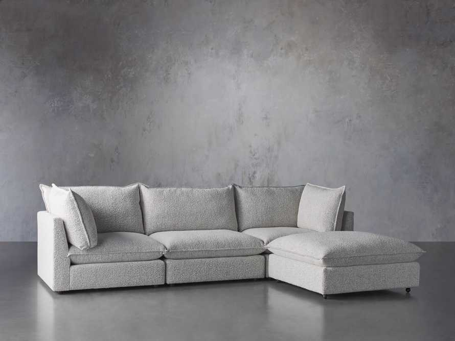 Owen Upholstered Four Piece Sectional, slide 2 of 6