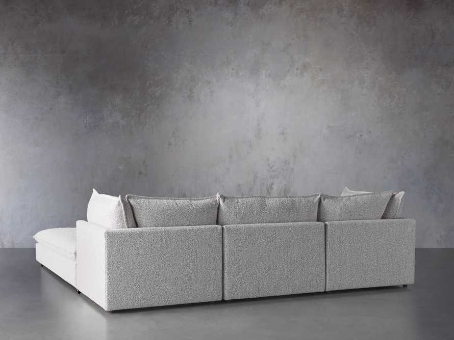 Owen Upholstered Four Piece Sectional, slide 3 of 6