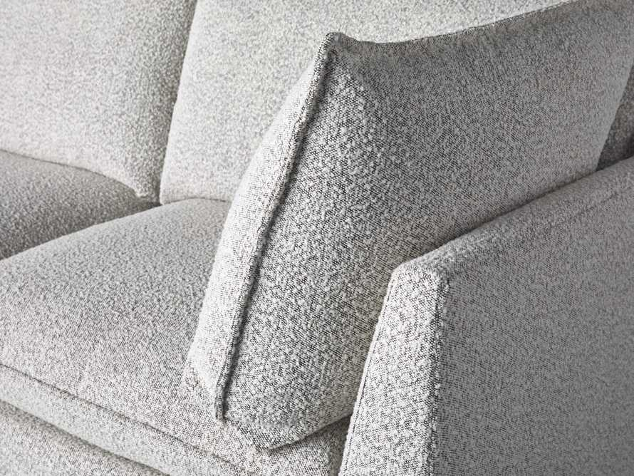 Owen Upholstered Five Piece Reverse Sectional, slide 6 of 9