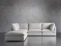 Owen Upholstered Five Piece Reverse Sectional
