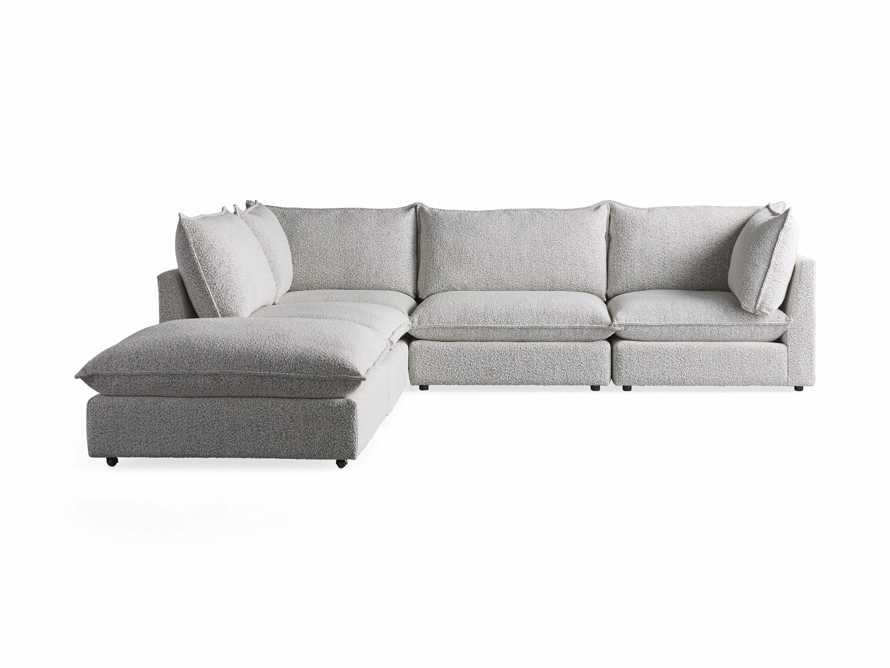 Owen Upholstered Five Piece Reverse Sectional, slide 9 of 9