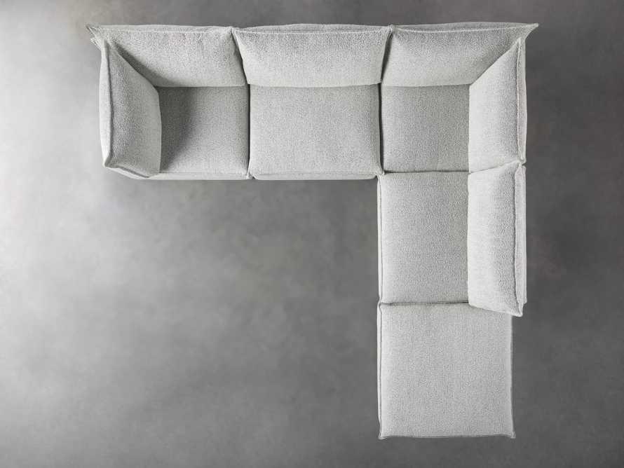 Owen Upholstered Five Piece Sectional, slide 4 of 6