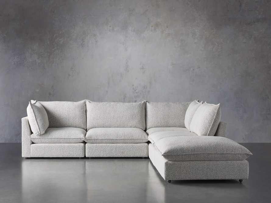 Owen Upholstered Five Piece Sectional, slide 1 of 6