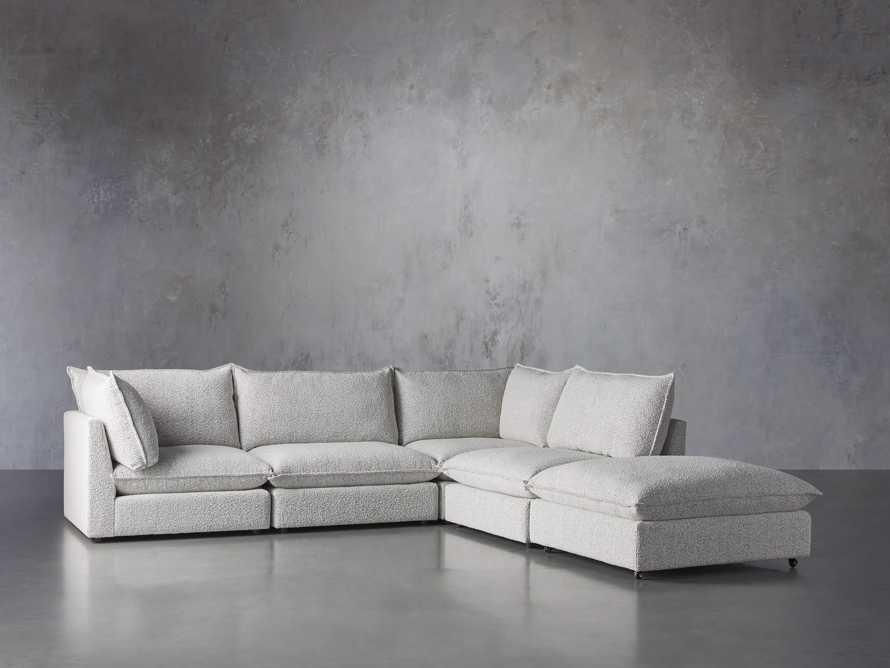 Owen Upholstered Five Piece Sectional, slide 2 of 6