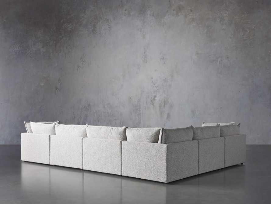 Owen Upholstered Seven Piece Sectional, slide 3 of 6