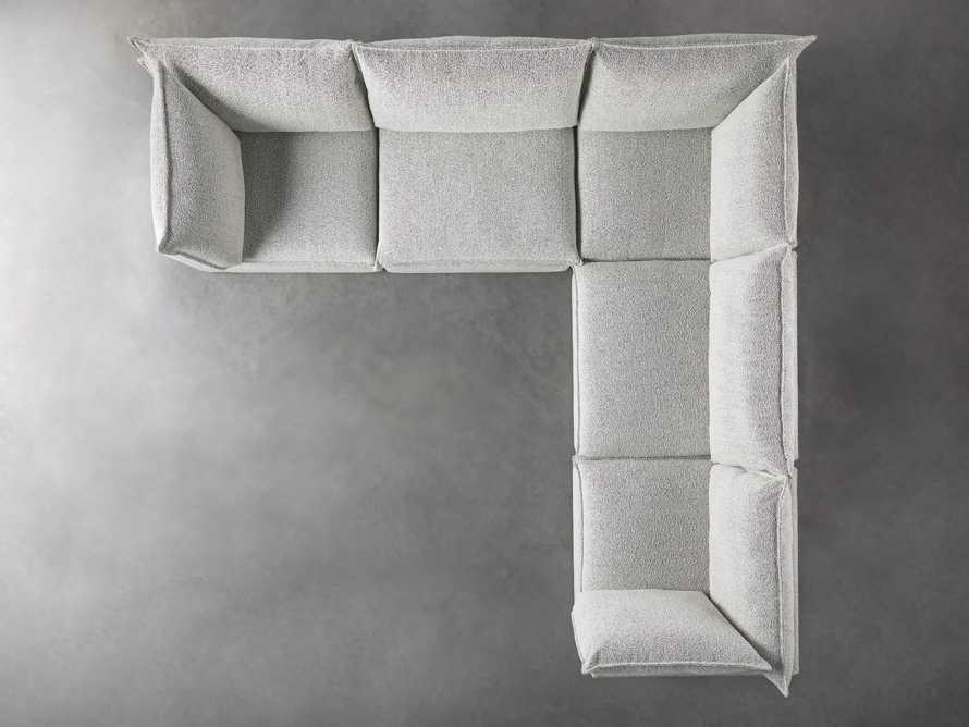 Owen Upholstered Five Piece Corner Sectional, slide 4 of 6