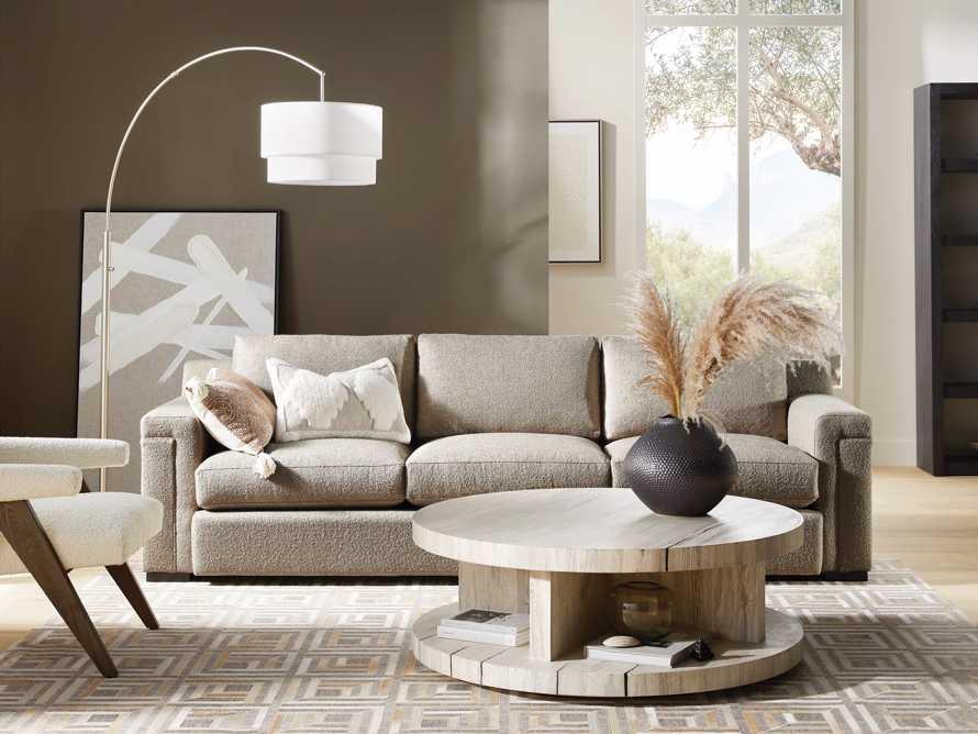 """Chandler Upholstered 106"""" 3 Over 3 Sofa, slide 1 of 9"""