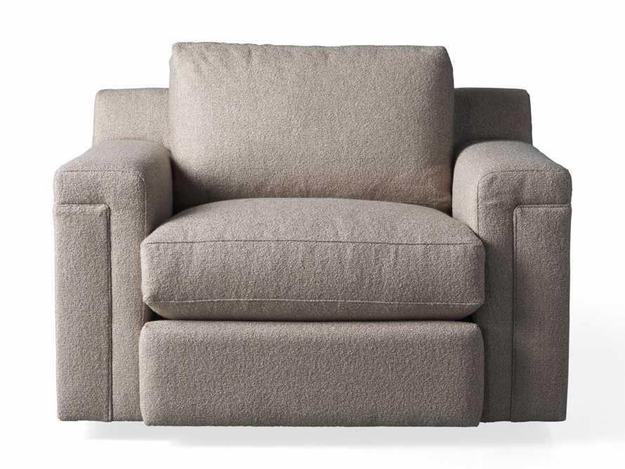 """Chandler Upholstered 46"""" Swivel Chair, slide 6 of 7"""